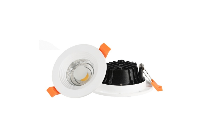 White commercial lighting round recessed oem COB 5w 7w 12w 18w 25w 30w led downlight